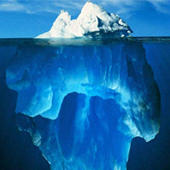 iceberg partie immergée